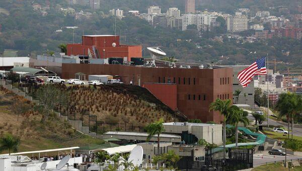 Edificio de la embajada estadounidense en Caracas - Sputnik Mundo