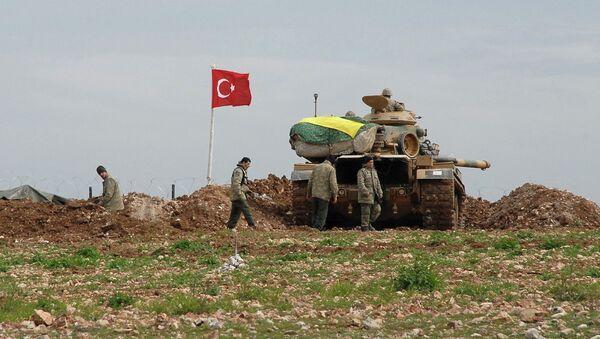 Soldados de Turquía - Sputnik Mundo