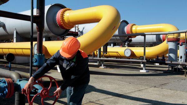 Tuberias de gas en Ucrania - Sputnik Mundo