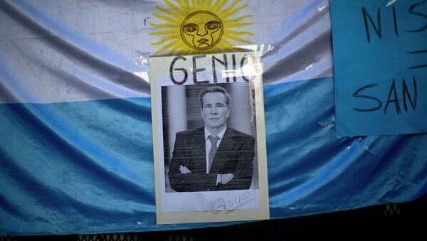 Un retrato del fiscal argentino Alberto Nisman - Sputnik Mundo