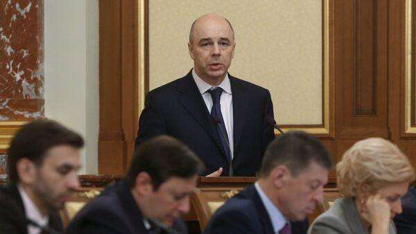 Министр финансов РФ Антон Силуанов - Sputnik Mundo