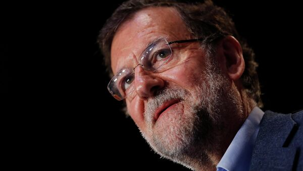 Mariano Rajoy, presidente de España - Sputnik Mundo