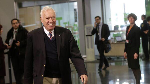 José Manuel García-Margallo, ministro de Exteriores de España - Sputnik Mundo