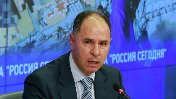 Чрезвычайный и Полномочный Посол Государства Палестина в РФ Фаед Мустафа - Sputnik Mundo