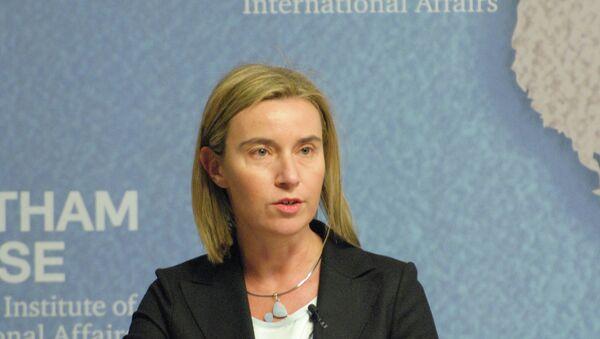 Federica Mogherini, High Representative of the European Union for Foreign Affairs and Security PolicyLa diplomatie européenne Federica Mogherini - Sputnik Mundo