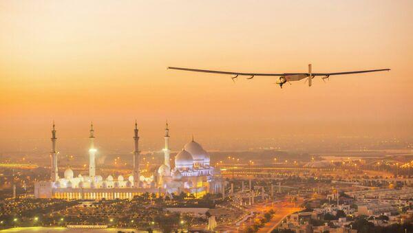Avión Solar Impulse 2 - Sputnik Mundo