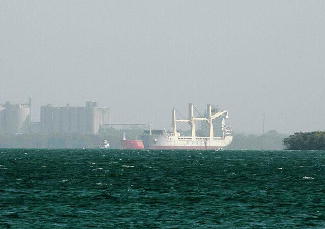 Barco chino en Colombia