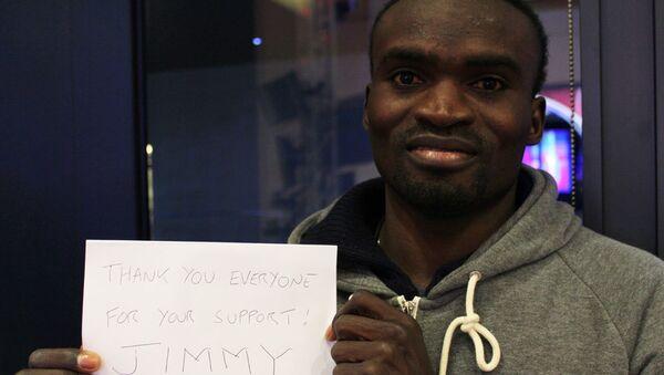 Atleta de Sierra Leona Jimmy Thoronka - Sputnik Mundo