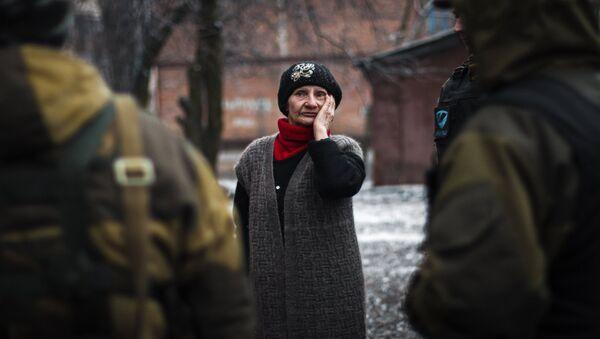 Residente local de Debáltsevo - Sputnik Mundo