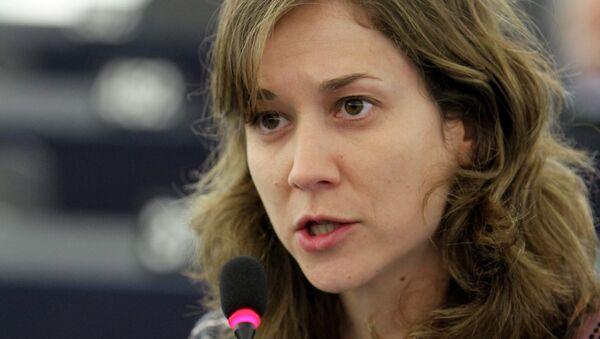 Marina Albiol, eurodiputada de Izquierda Unida (IU) - Sputnik Mundo