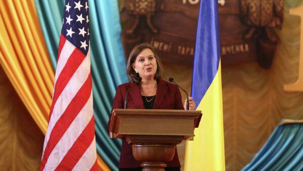 Victoria Nuland, subsecretaria de Estado para Europa y Eurasia de EEUU - Sputnik Mundo