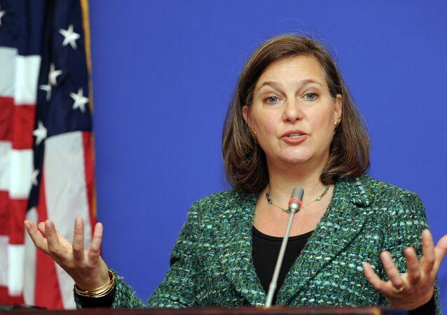 Victoria Nuland, subsecretaria de Estado estadounidense
