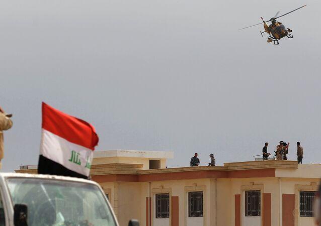 Fuerzas de seguridad de Irak en Tikrit