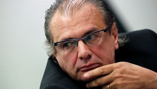 Pedro Barusco, ex gerente de Servicios de Petrobras - Sputnik Mundo