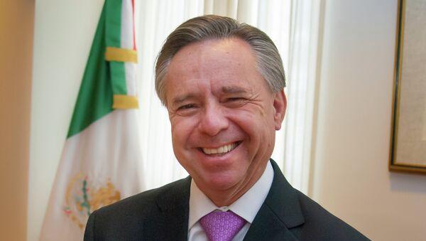 Eduardo Medina Mora, nuevo ministro de la Suprema Corte de Justicia de la Nación de México - Sputnik Mundo