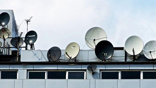 Antenas parabólicas - Sputnik Mundo
