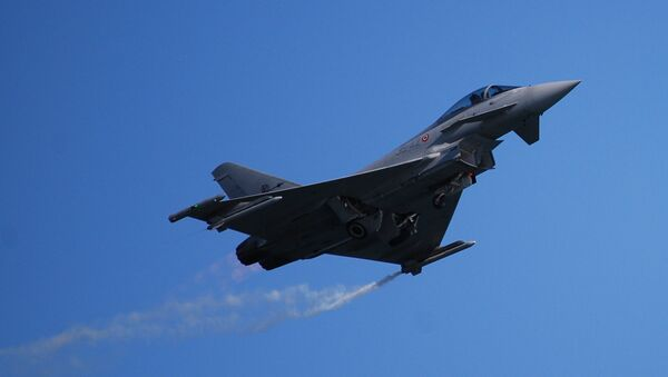 Eurofighter Typhoon - Italian Air Force - Sputnik Mundo