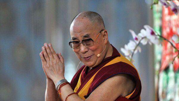 Exiled Tibetan spiritual leader, the Dalai Lama - Sputnik Mundo