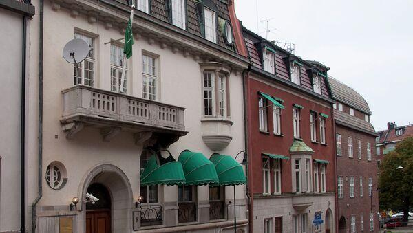 Embajada de Arabia Saudí en Estocolmo - Sputnik Mundo