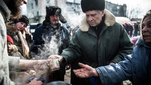 Debáltsevo triplica su población desde que los milicianos tomaron su control - Sputnik Mundo