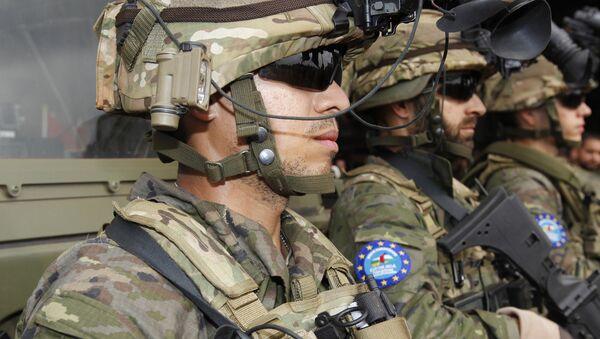 Soldados españoles que participaron en la misión EUFOR RCA - Sputnik Mundo