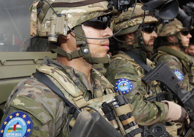Soldados españoles que participaron en la misión EUFOR RCA