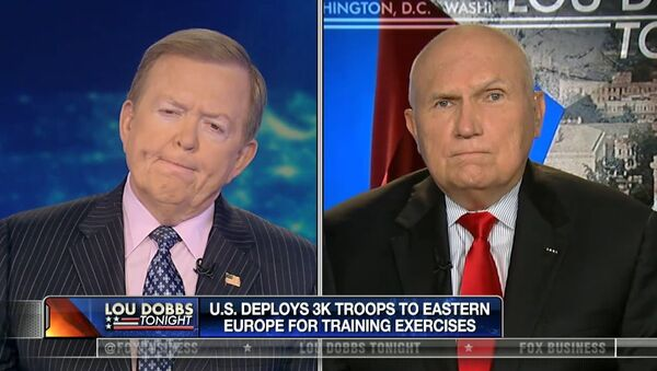 Robert Scales, experto militar de Fox News (dcha.) - Sputnik Mundo