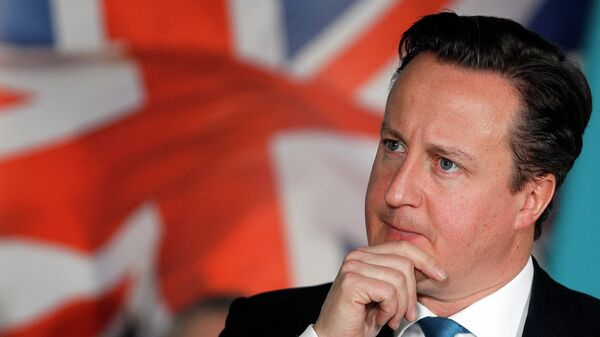 Ex primer ministro británico David Cameron - Sputnik Mundo