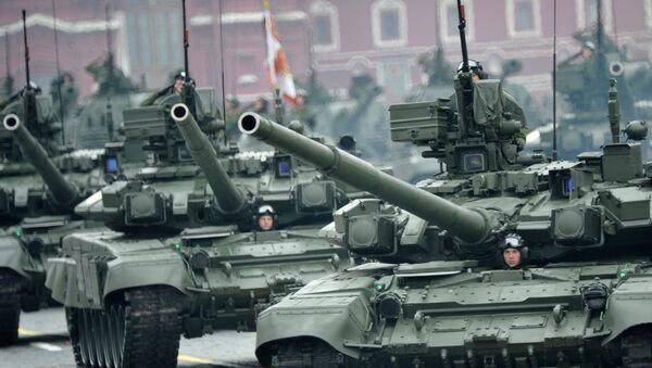 Tanques rusos Т-90 - Sputnik Mundo