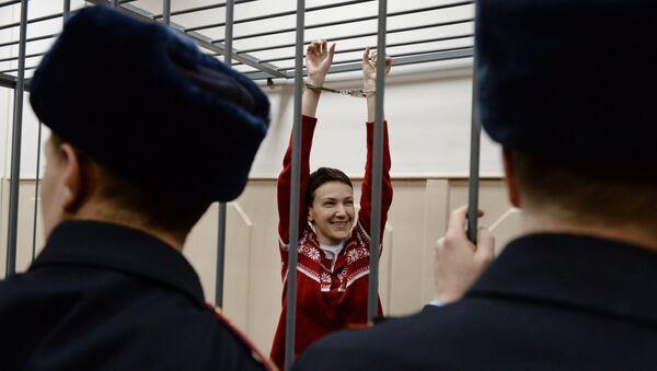 Украинская летчица Надежда Савченко - Sputnik Mundo