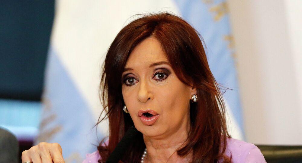 Cristina Fernández de Kirchner, vicepresidenta de Argentina