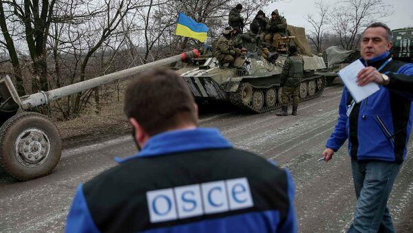 OSCE en Ucrania - Sputnik Mundo