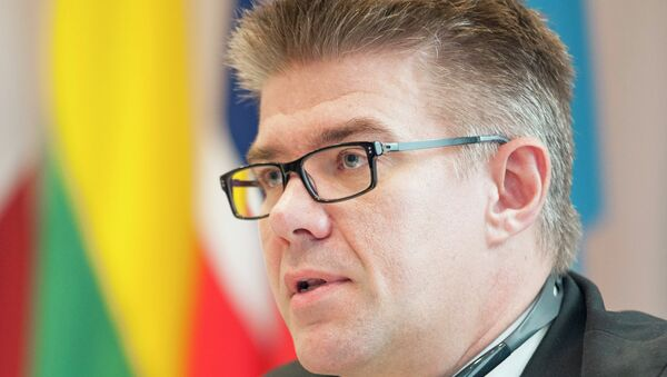 Minister for Foreign Affairs of Iceland Gunnar Bragi Sveinsson - Sputnik Mundo