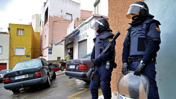 Policías españoles - Sputnik Mundo