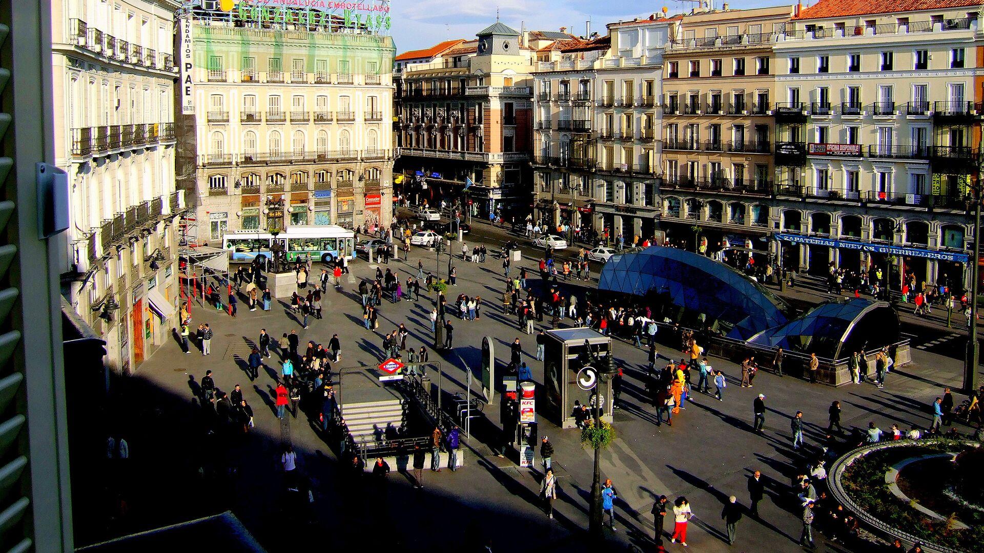Puerta del Sol en Madrid (archivo) - Sputnik Mundo, 1920, 05.07.2021