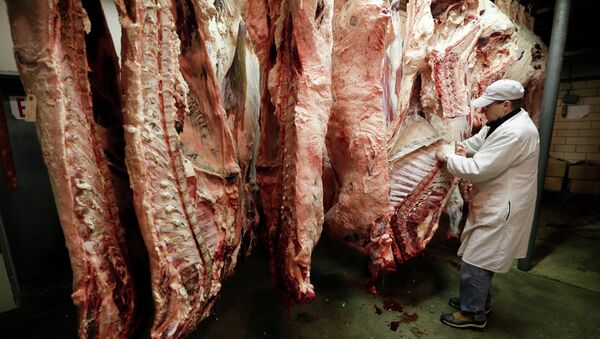 Carne de vaca - Sputnik Mundo