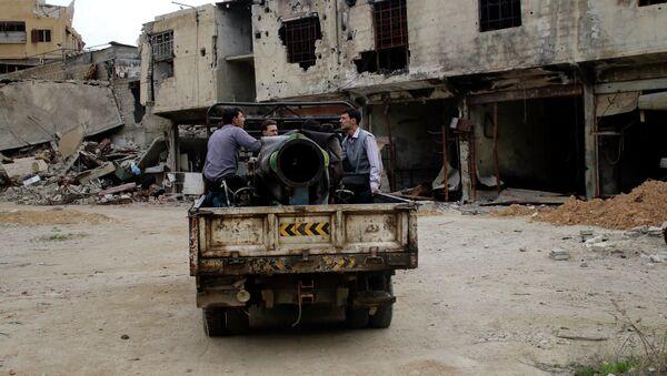 Combatientes rebeldes del Ejército Libre de Siria - Sputnik Mundo