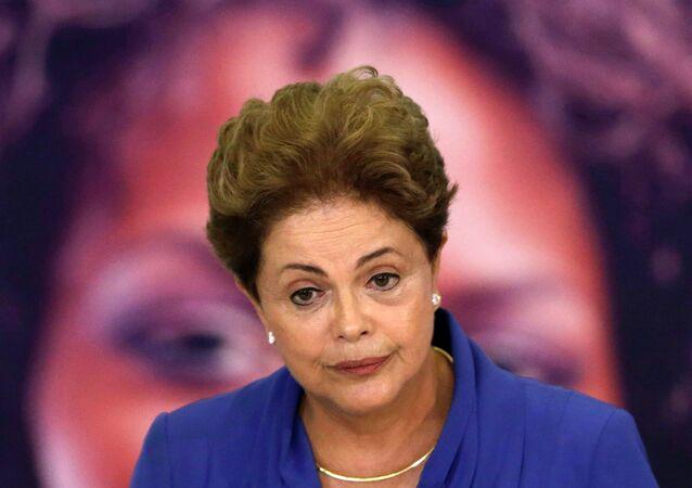 Dilma Rousseff, presidenta de la República de Brasil