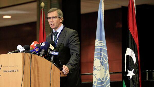 Bernardino León, representante especial del secretario general de la ONU para Libia - Sputnik Mundo