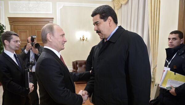Vladímir Putin y Nicolás Maduro (archivo) - Sputnik Mundo