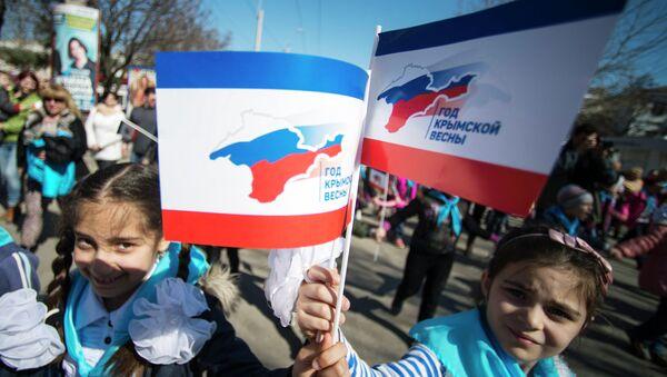 Aniversario de la reunificación de Crimea con Rusia - Sputnik Mundo