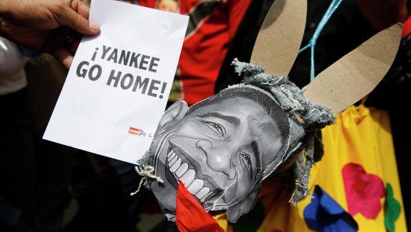 Mitin en apoyo a las competencias especiales de Nicolás Maduro - Sputnik Mundo