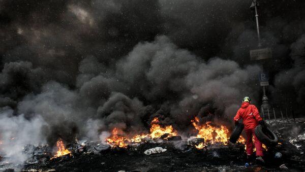 Manifestaciones de protesta en Maidán (Archivo) - Sputnik Mundo