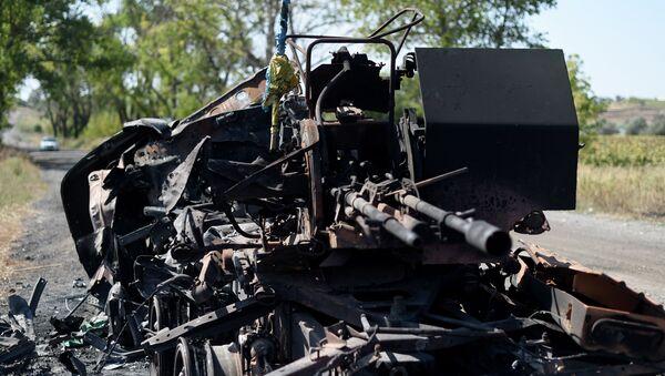 Fiscalía Militar ucraniana cifra en 360 los muertos durante el cerco a Ilovaisk - Sputnik Mundo