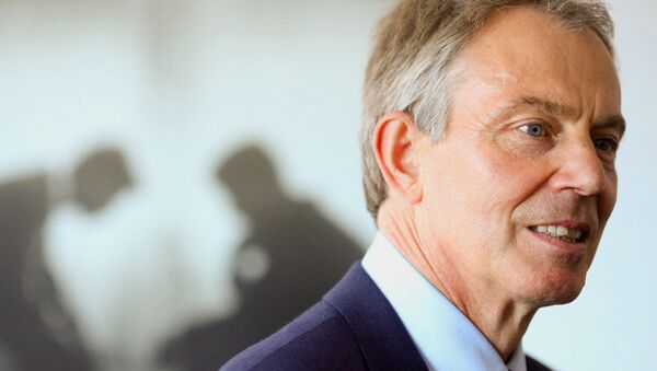 Tony Blair, exprimer ministro británico - Sputnik Mundo