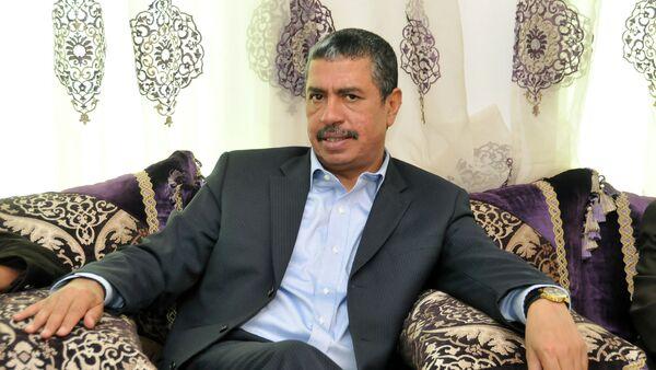 Khalid Bahah, primer ministro de Yemen - Sputnik Mundo