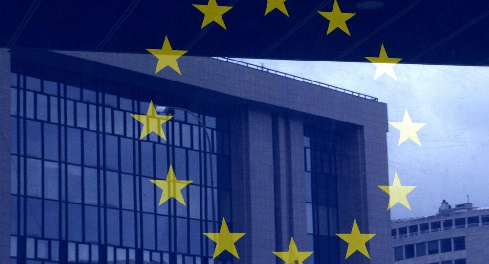 El logo de la UE