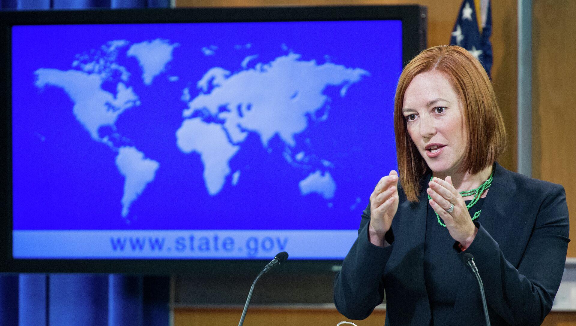 US State Department spokesperson Jen Psaki - Sputnik Mundo, 1920, 08.02.2021