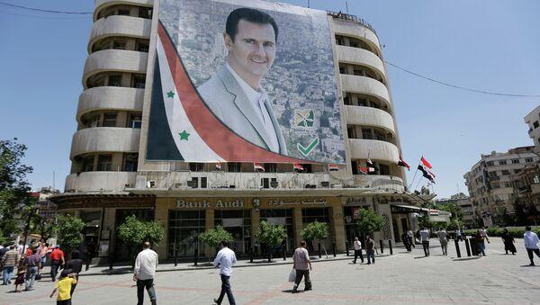 Imagen de Bashar Asad, presidente sirio - Sputnik Mundo