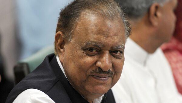 Mamnoon Hussain, presidente de Pakistán - Sputnik Mundo
